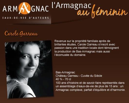 Armagnac au Féminin