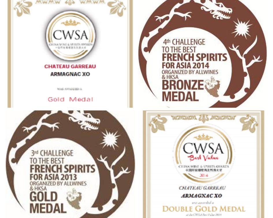 medailles Asie